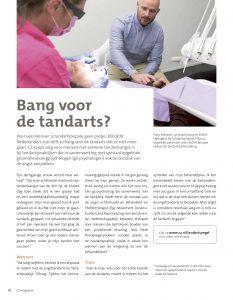 EMDR therapie bij tandarts angst in CZ leden blaadje